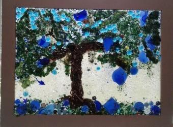 Savannah Oak on her Blue Day